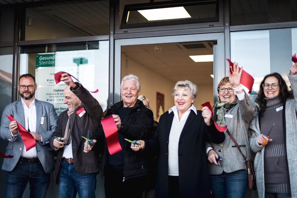 Foto: Eröffnung des Gesundheitszentrums Steinberg