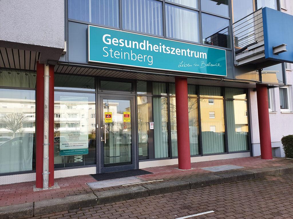 Foto: Gesundheitszentrum Steinberg Eingang